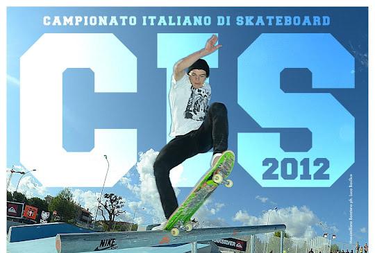 Poster Campionato Italiano Skateboard 2012