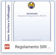 Regolamento SIRI - Maestri e Allenatori