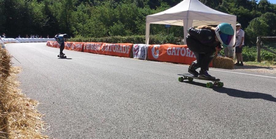 finale donne skateboard dh