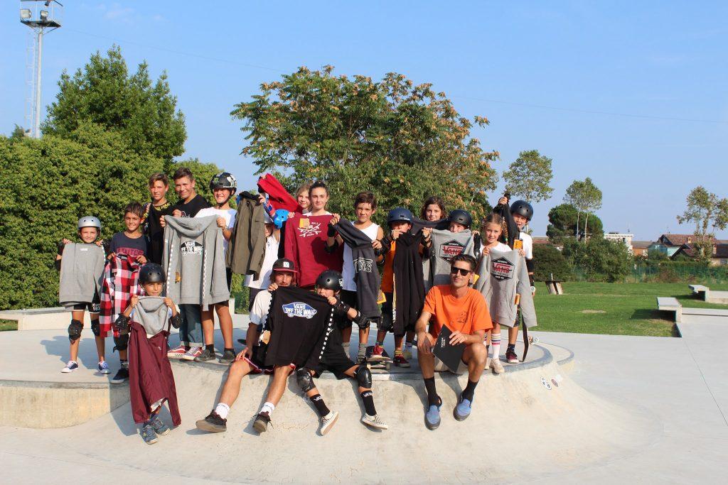 Wave Skatepark - Seba Rossi e i suoi allievi