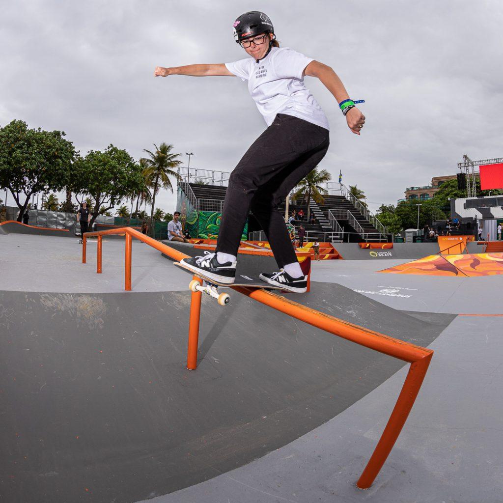 Asia Lanzi - fs boardslide - OI Stu Open, Rio de Janeiro - ph. Federico Romanello