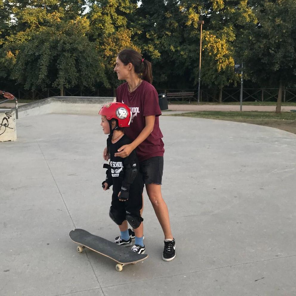 Martina Piredda lesson Jurassic Skatepark