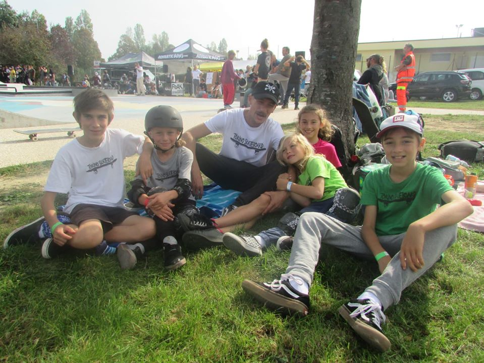 I kids di Torino Skateboard in trasferta alle Kids Series Finals