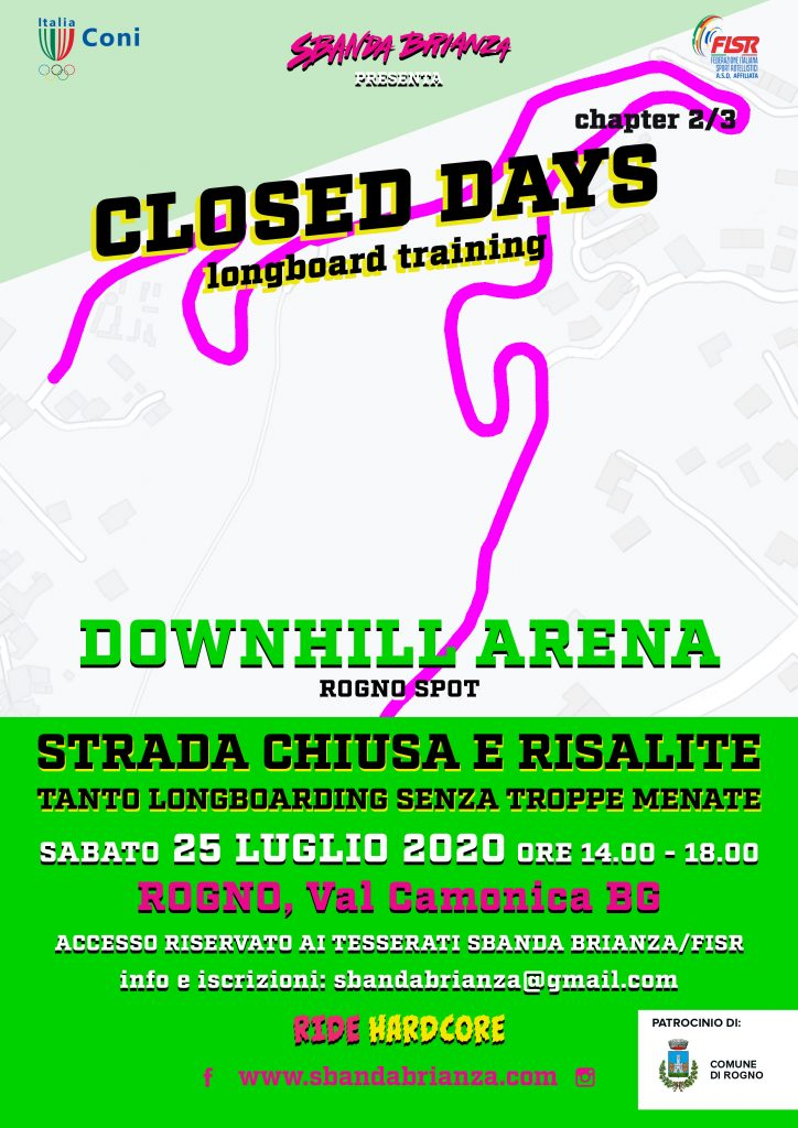 Locandina Closed Days 2