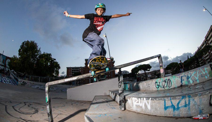 CIS Street Junior 2020 - Diego Fusconi fs boardslide