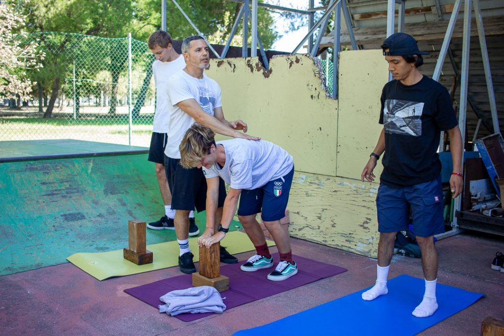 Zattoni workshop - esercizi con Giorgio e il team