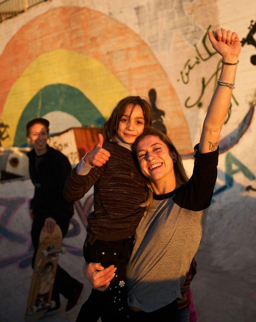 Marta Pruni nella Striscia di Gaza