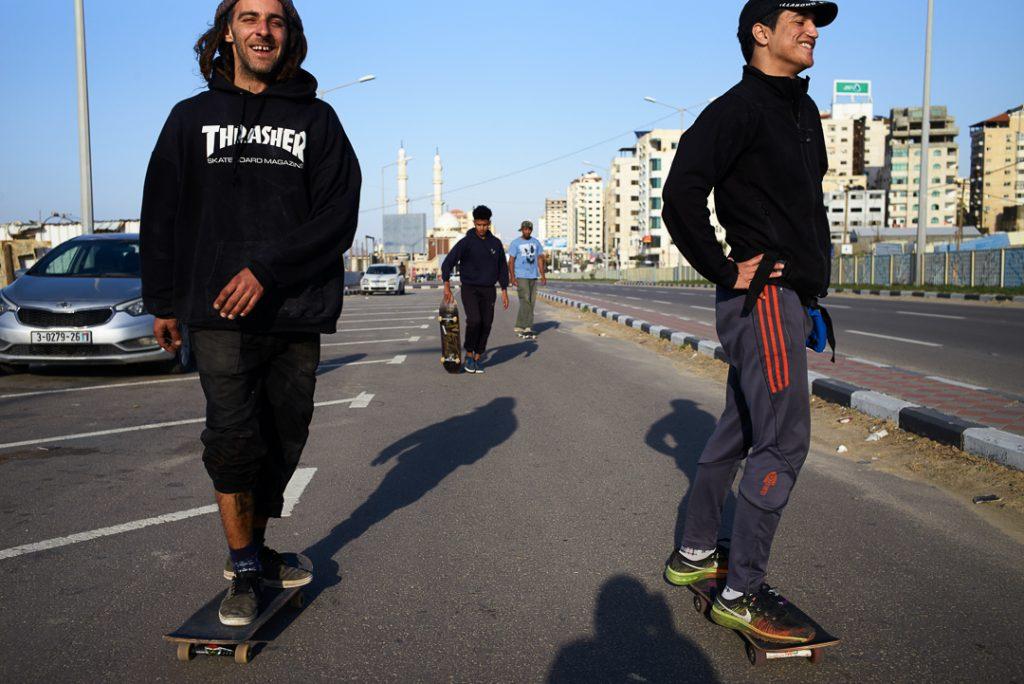 Skateboarders - ph. Andrè Lucat