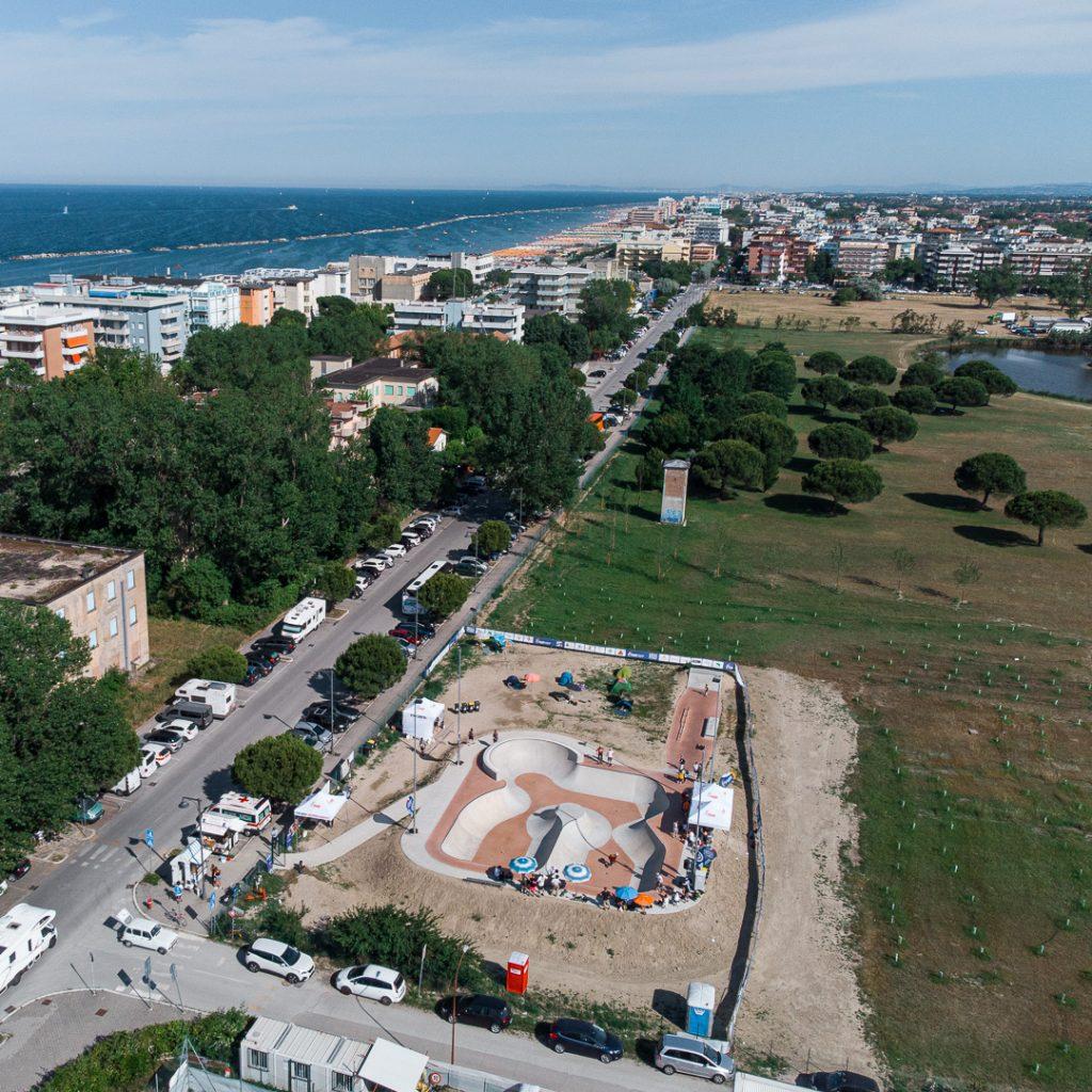 Lo skatepark di Cesenatico