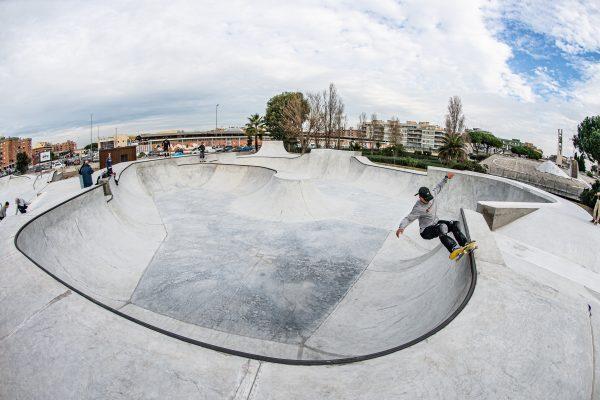 Lo skatepark di Ostia Lido - ph. Piero Capannini